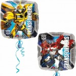 Balon foliowy 17 cali Transformers Optimus Bumblebee