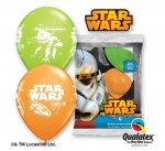 "Balon QL 12"" z nadr. Darth Vader & Yoda /STAR WARS"