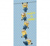 Banner na drzwi Lovely Minions - 70 x 160 cm