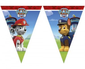 Banner Paw Patrol - Ready For Action, flagi