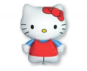 Balon foliowy 24 cale Hello Kitty