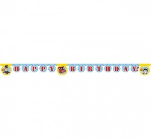 Banner Postman Pat - Happy Birthday