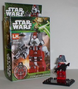 Klocki Sith Trooper Star Wars New