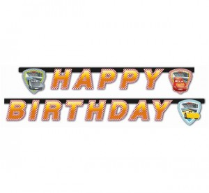 Banner Cars 3 - Happy Birthday